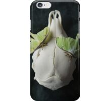 Luna moths still life iPhone Case/Skin