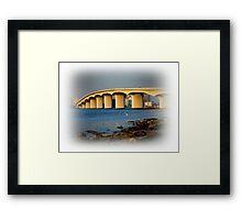 Sarasota Bridge  Framed Print