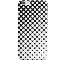 Moderm Abstract Black & White Polka Dots Pattern iPhone Case/Skin