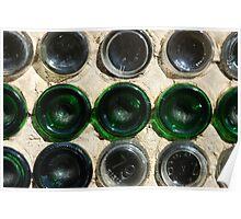 bottle house bottles Poster