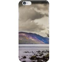 North East along Loch Ness from General Wade's military road iPhone Case/Skin
