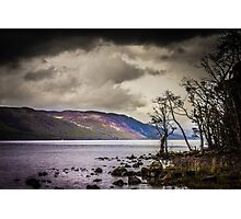 North East along Loch Ness from General Wade's military road Photographic Print