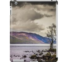 North East along Loch Ness from General Wade's military road iPad Case/Skin