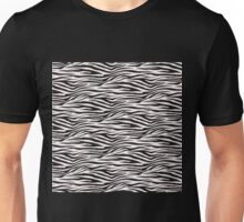 Zebra-striped Unisex T-Shirt