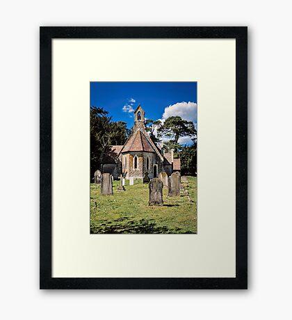 Holy Trinity  Framed Print