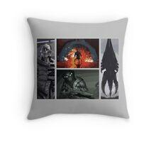 Mass Effect Villains Throw Pillow