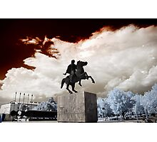 Alexander the Great IR Photographic Print