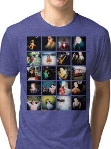 Holga Mosaic Tri-blend T-Shirt