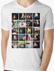 Holga Mosaic Mens V-Neck T-Shirt