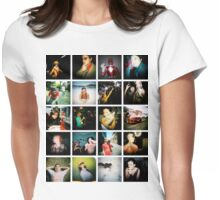 Holga Mosaic Womens Fitted T-Shirt