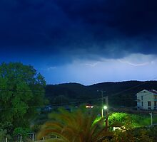 Thunder in Halkidiki by makedon