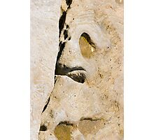 Yellow face Photographic Print