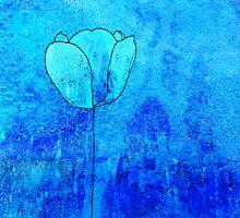 Single Tulip in Blue by jripleyfagence