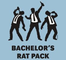 Bachelor's Rat Pack (Stag Party Groom Team / Illu) by MrFaulbaum