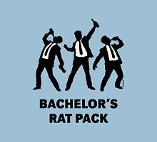 Bachelor's Rat Pack (Stag Party Groom Team / Illu) Unisex T-Shirt