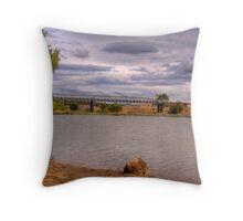 Snowy River at Dalgety Throw Pillow