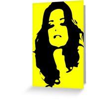 Yellow Smile Greeting Card