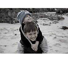 Brotherly love Photographic Print