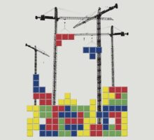 Tetris Skyline by Reece Ward