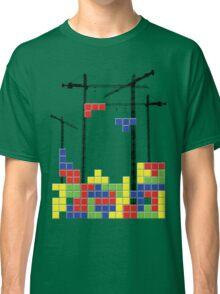 Tetris Skyline Classic T-Shirt