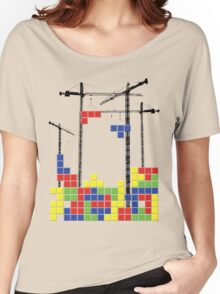 Tetris Skyline Women's Relaxed Fit T-Shirt