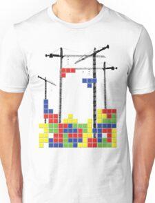 Tetris Skyline Unisex T-Shirt