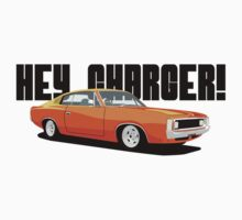 HEY CHARGER - ORANGE Kids Clothes