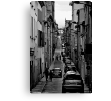 A street in France Canvas Print