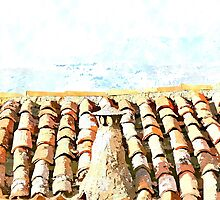 Hotel Sgroi: roof, chimney, tiles by Giuseppe Cocco
