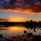 majestic sunset by Joel Wigley