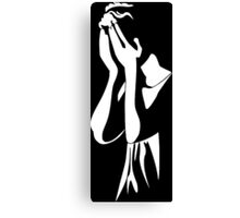 Dr Who - Weeping Angel Canvas Print