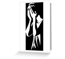 Dr Who - Weeping Angel Greeting Card