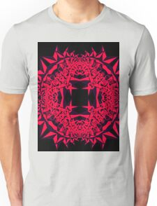 Pink Fractal Unisex T-Shirt
