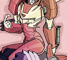 Rodimus Prime Pinupstyle  by Spheen7