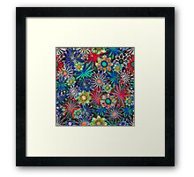 Tropical Daisies Framed Print