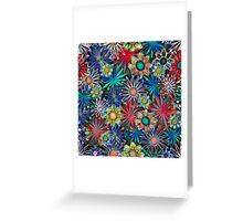 Tropical Daisies Greeting Card