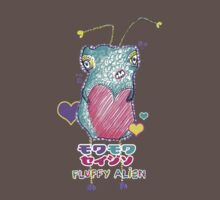 Moku Moku Seijin [Fluffy Alien ♥] Tee Version by Tiffany Atkin