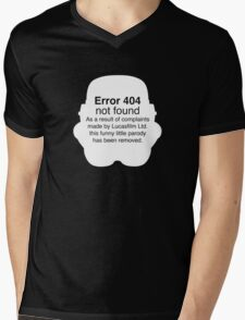 Error 404 Mens V-Neck T-Shirt