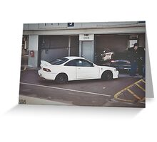 Honda Integra Type R DC2 Greeting Card