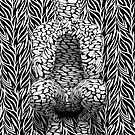 Abstract on Zebra Two by AnonymousArt