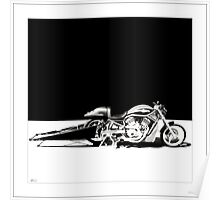 """Harley-Davidson VROD Drag Bike at Thunder in the Rockies, 2006"" Poster"