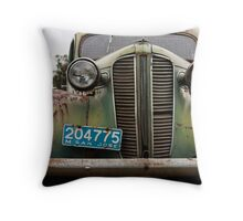 Classic Decay Throw Pillow