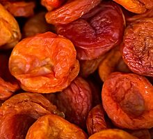 Food - Dried apricots by luckypixel