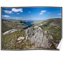 Hawes Water from Harter Fell Poster