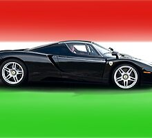 2002 Ferrari 'Enzo'  by DaveKoontz