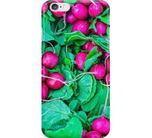 Food - Fresh radish vegetables iPhone Case/Skin