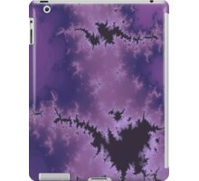 Purple Explosion Abstract Design iPad Case/Skin