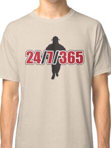 Firemen: 24 / 7 / 365 Classic T-Shirt