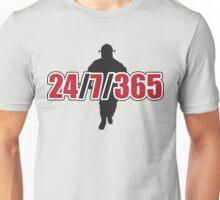 Firemen: 24 / 7 / 365 Unisex T-Shirt