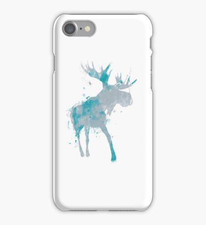 Moody Moose iPhone Case/Skin